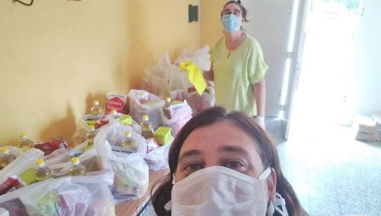 Foto Voluntarios de Cáritas